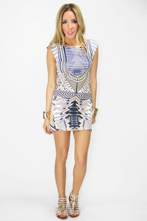MARA TRIBAL PRINT DRESS - Haute & Rebellious