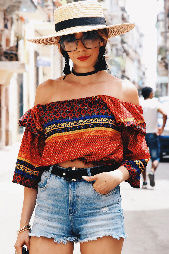 Havana Off Shoulder Top