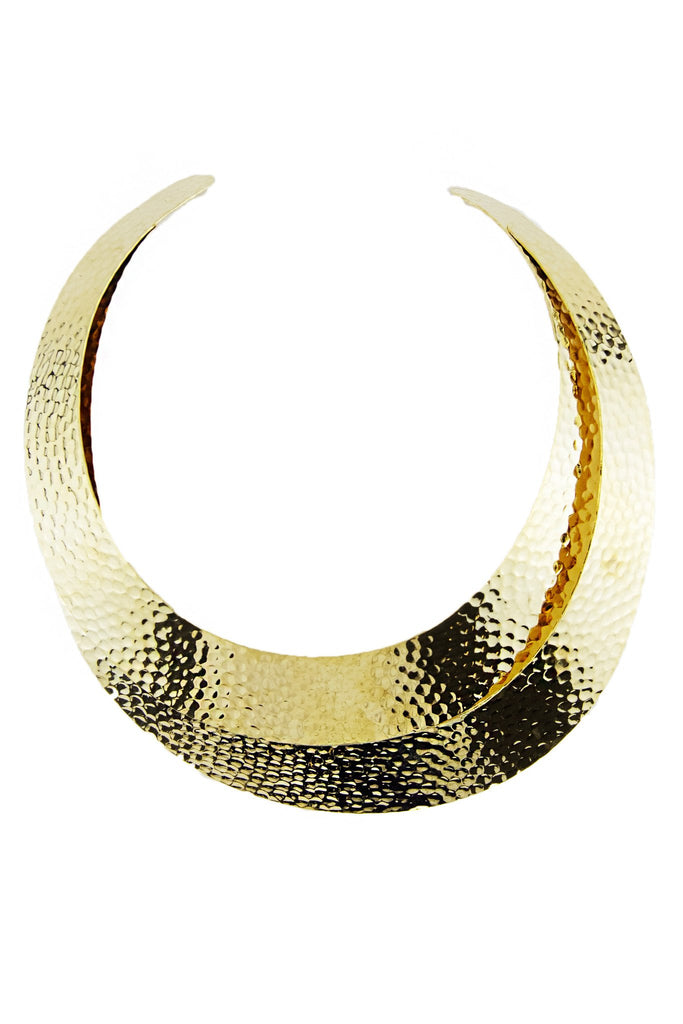 DOUBLE PLATED NECKLACE - Gold
