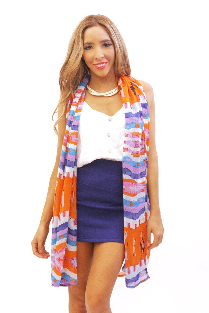 MULTI-COLOR VEST