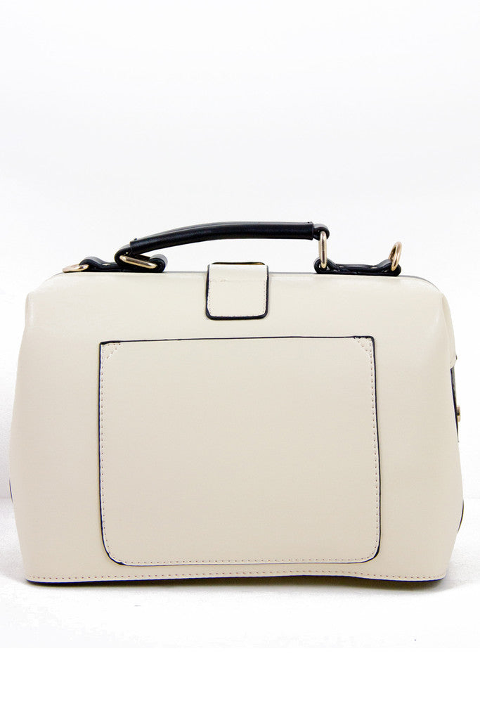 PAIGE BAG - Cream