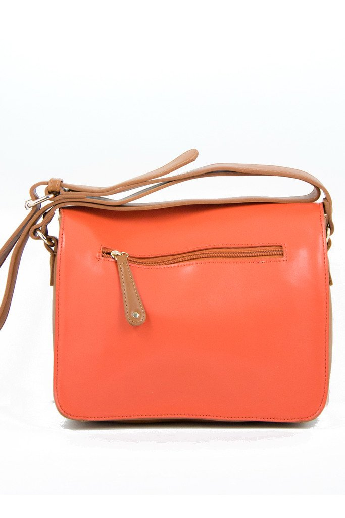 DEMI HANDLE TOTE - Salmon