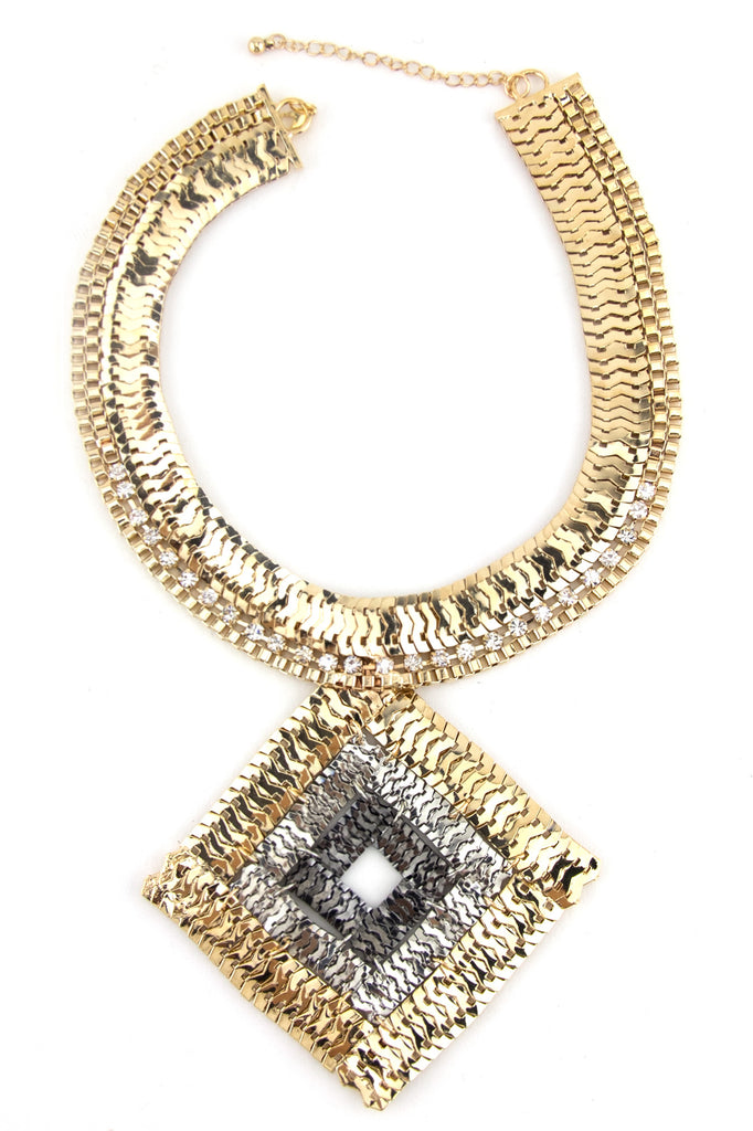 PHARAOH LINK NECKLACE - Gold