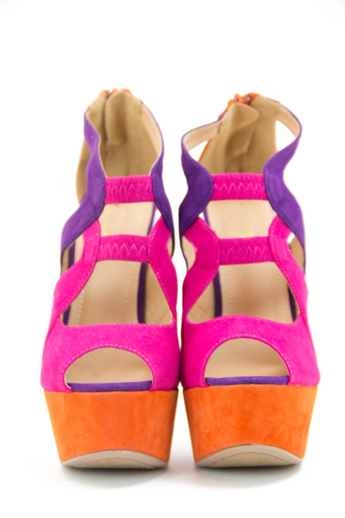 PEYTON COLOR BLOCK PLATFORMS