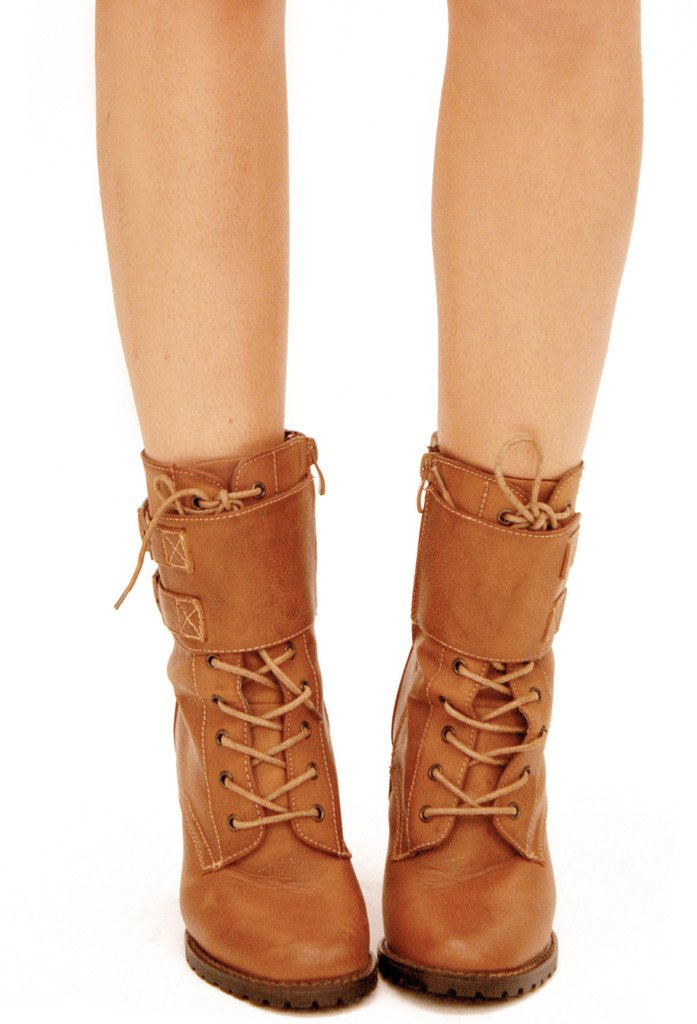 AIDEN BOOTS - Brown - Haute & Rebellious