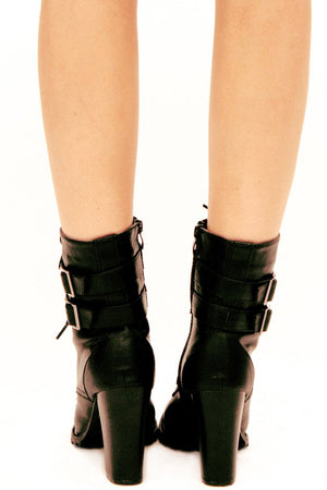 AIDEN BOOTS - Black - Haute & Rebellious