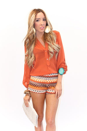 ANYA TRIBAL SHORTS - Haute & Rebellious