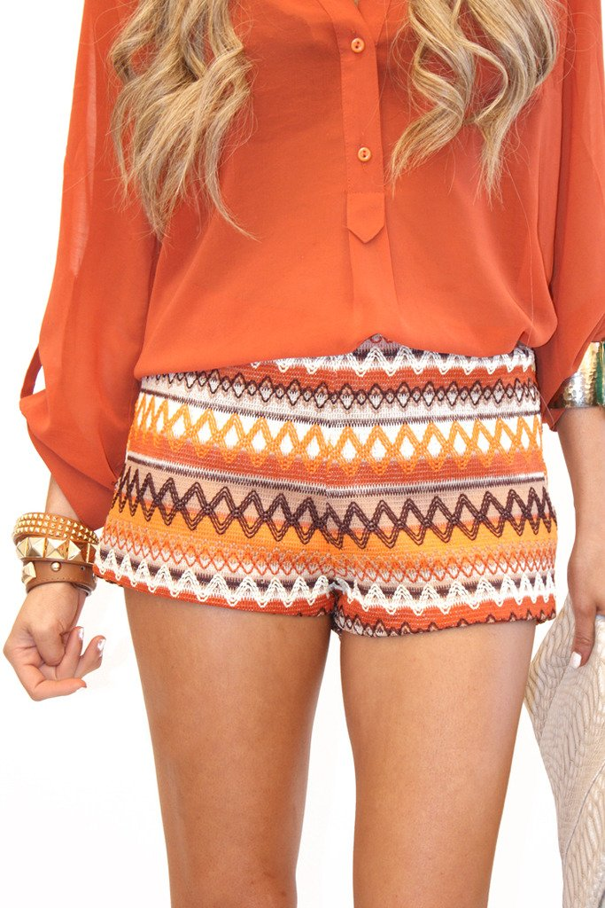 ANYA TRIBAL SHORTS