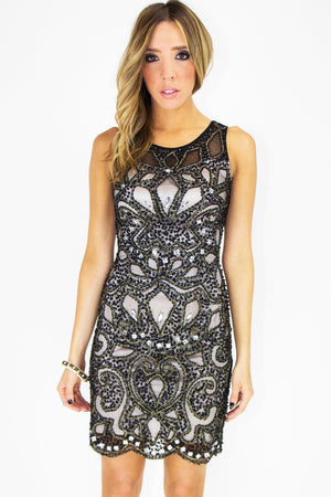 MIMITH TIRBAL BEADED DRESS - Haute & Rebellious