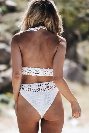 Find My Beach Crochet Bikini Top - Haute & Rebellious