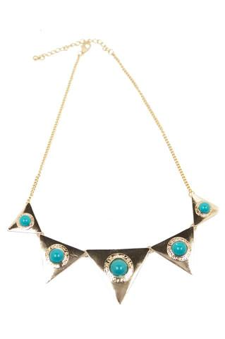 LAYLA TURQUOISE SPHERES NECKLACE (Final Sale)