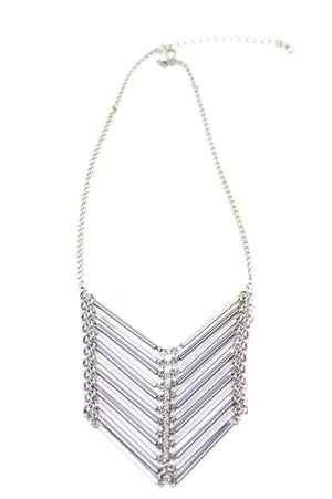HONTU NECKLACE - Silver - Haute & Rebellious