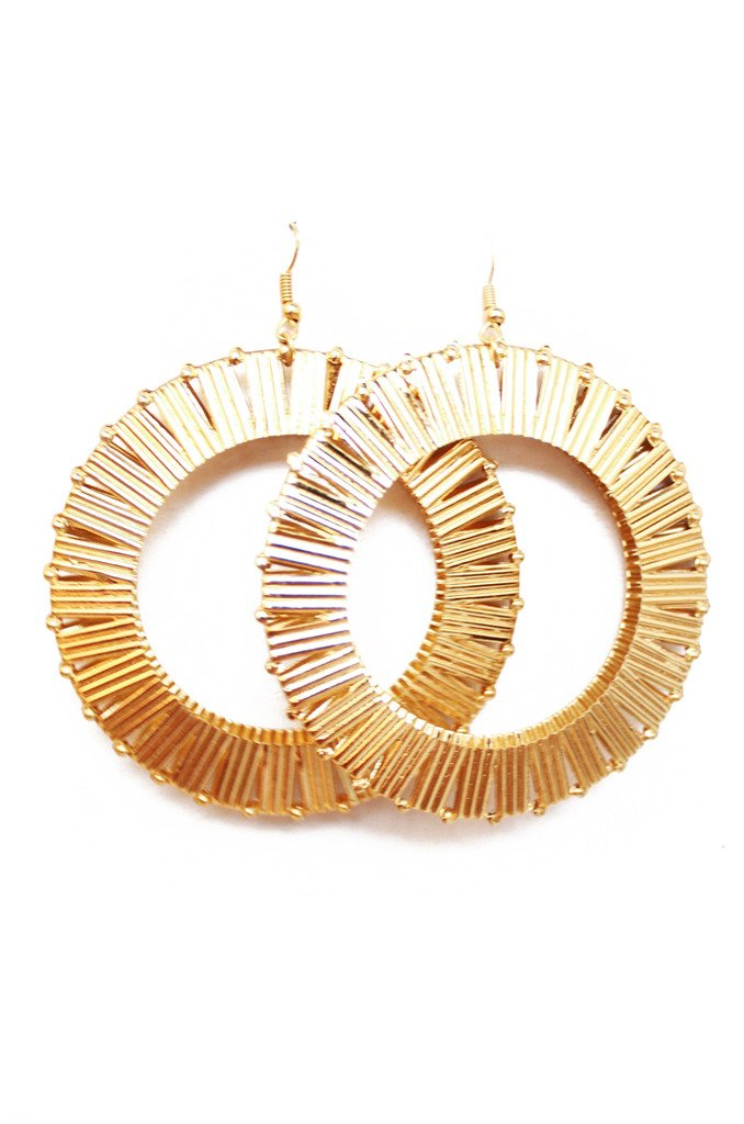 LAYLA CIRCLE EARRINGS - Haute & Rebellious