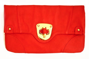 Haute & Rebellious RED ENVELOPE CLUTCH in [option2]