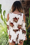 You Wish Floral Romper