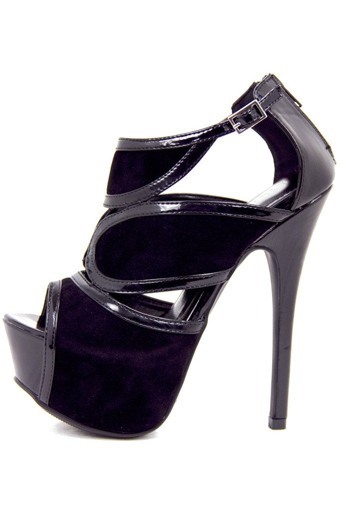 ADDISON HEEL - Black - Haute & Rebellious