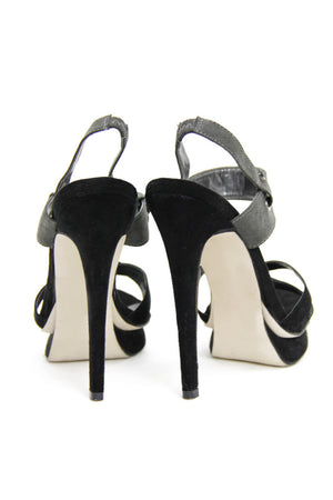 TWO TONE HEEL - Black/Charcoal (Final Sale) /// Only 1-7 Left /// - Haute & Rebellious