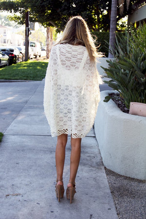 LACE COCOON CARDIGAN - Haute & Rebellious