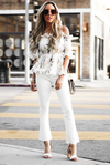 With You Floral Ruffle Off-Shoulder Top