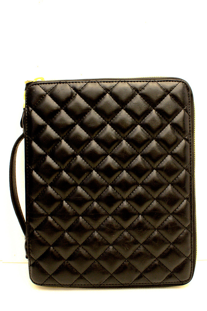 QUILTED IPAD COVER - Haute & Rebellious