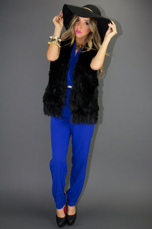 ONYX JUMPER - Electric Blue - Haute & Rebellious