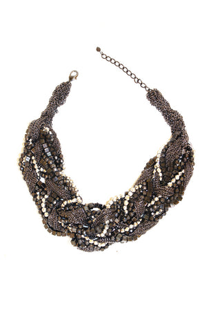 OVERSIZED SILVER NECKLACE - Haute & Rebellious