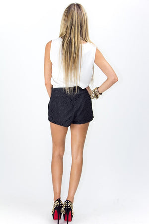 LONA LACE SHORTS - Black - Haute & Rebellious