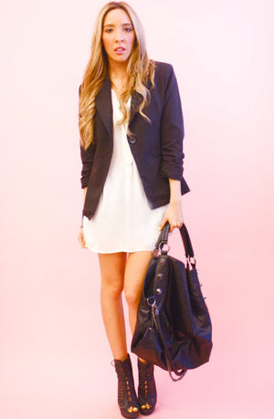 Haute & Rebellious BLACK BLAZER in [option2]