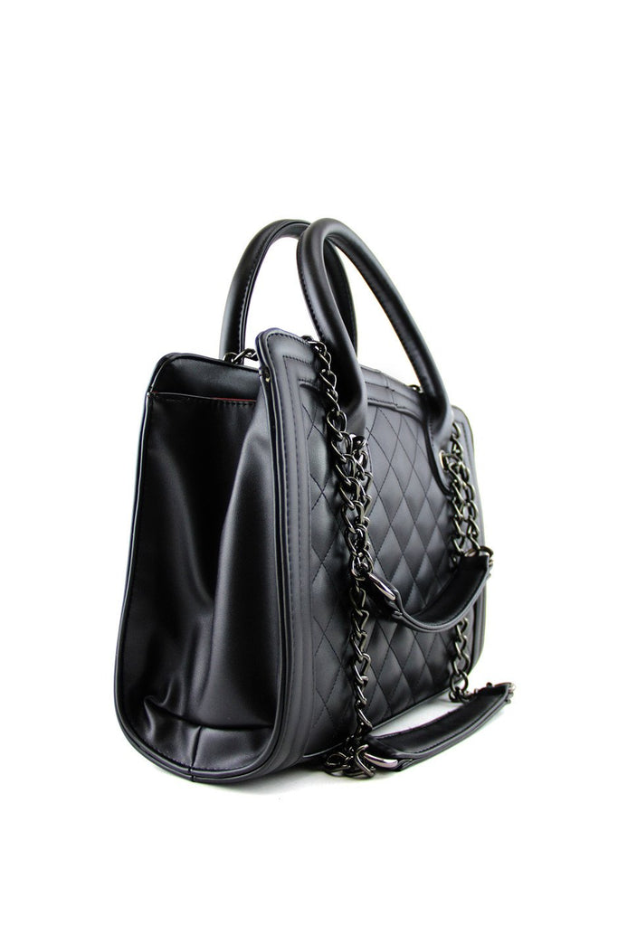 MAXWELL QUILTED HANDLE BAG