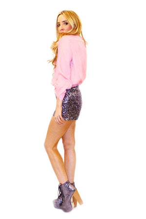 BASIC DRESS SHIRT - Bubble Gum - Haute & Rebellious