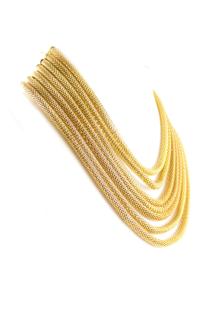 Gold Layering Cleopatra Necklace