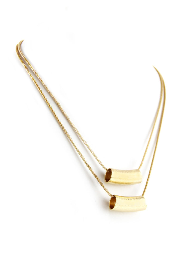 Gold Thin Layering Necklace
