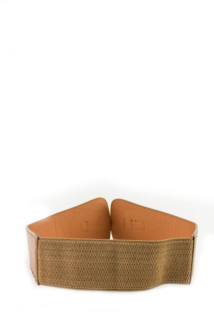 WESTERN RIDE BELT - Brown