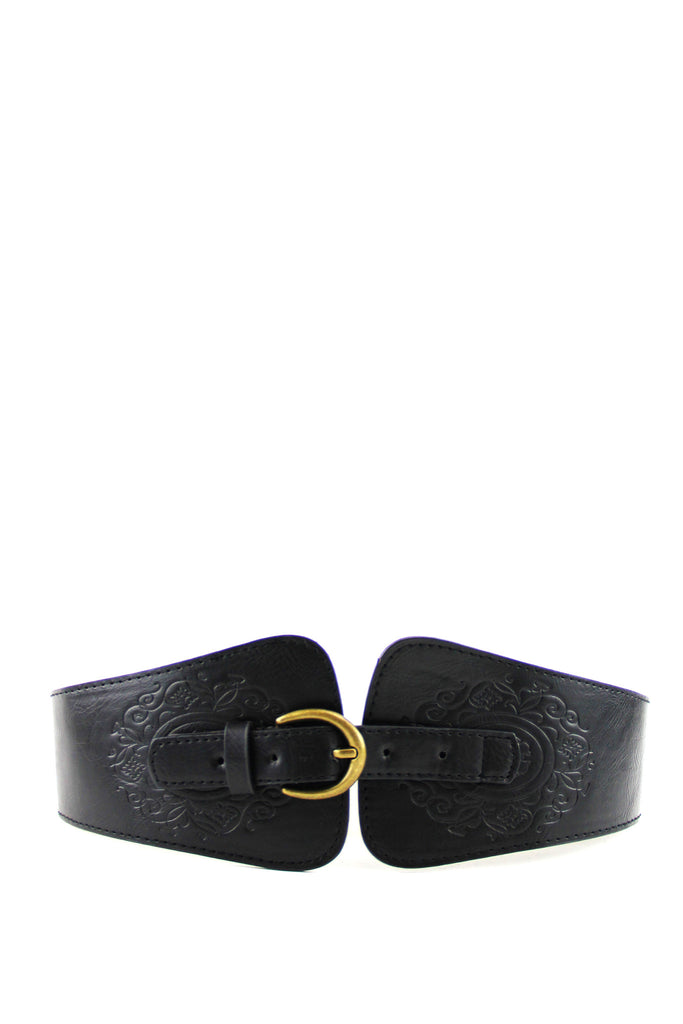 WESTERN RIDE BELT - Black