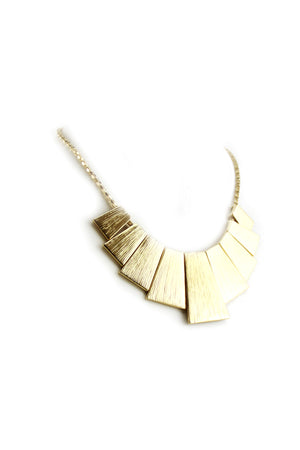 Tut Egyptian Plated Pndt Necklace - Haute & Rebellious