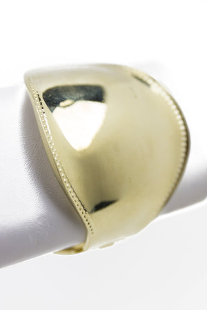 BUBBLE CUFF - Gold (Final Sale) - Haute & Rebellious