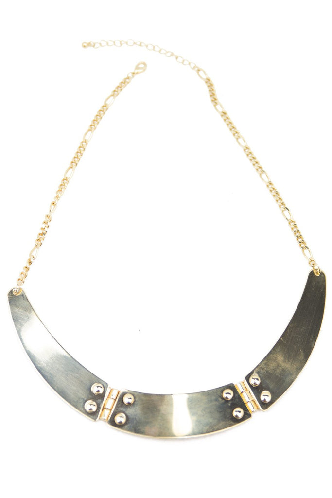 GOLD PLATES NECKLACE