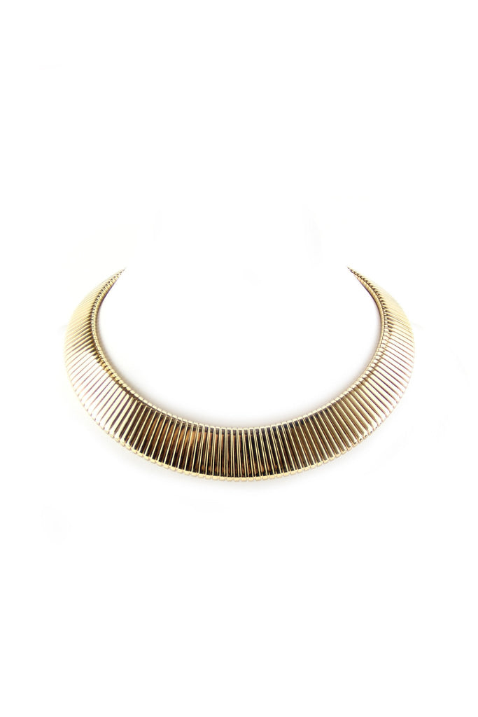 Cleopatra Gold Chocker Necklace - Haute & Rebellious
