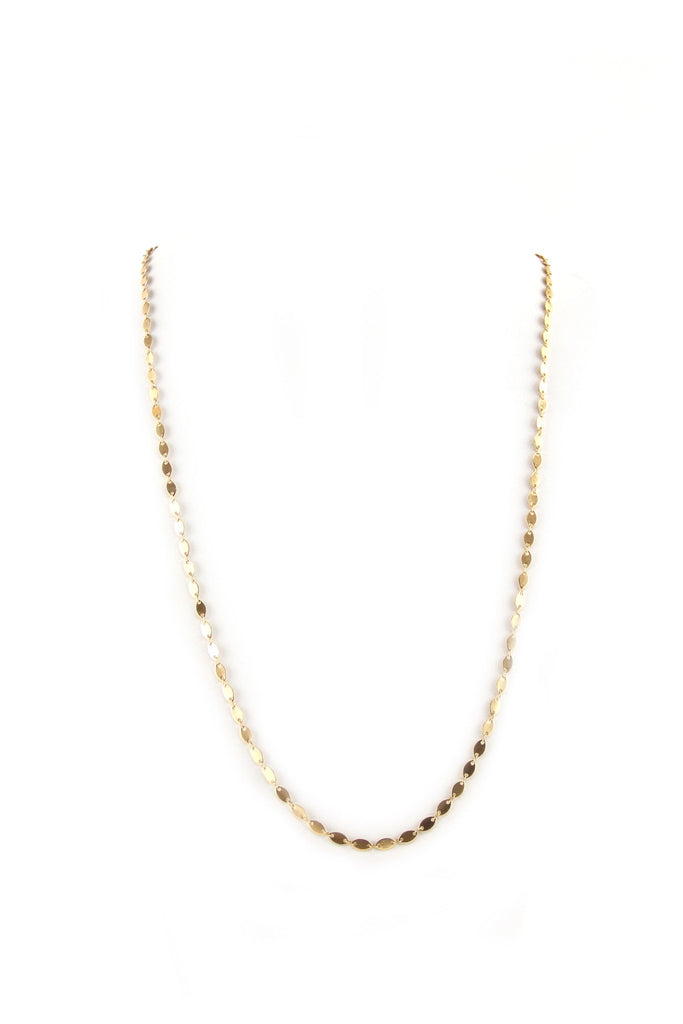 Emma Gold Thin Layering Necklace