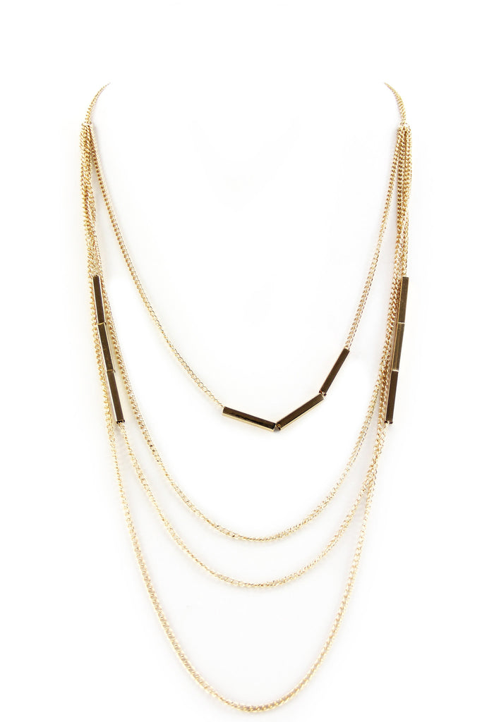 Razzo Long Chain Layering Necklace