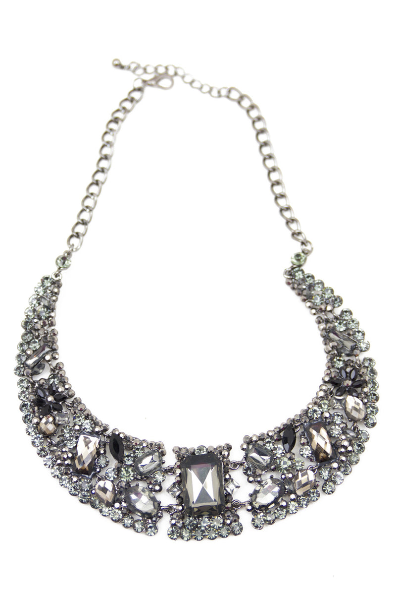 SMOKY CRYSTALS NECKLACE - Haute & Rebellious