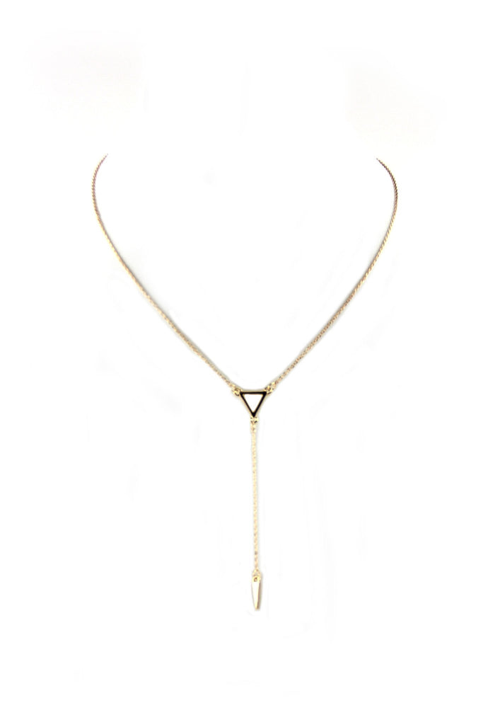 Jade Petite Layering Necklace - Gold - Haute & Rebellious