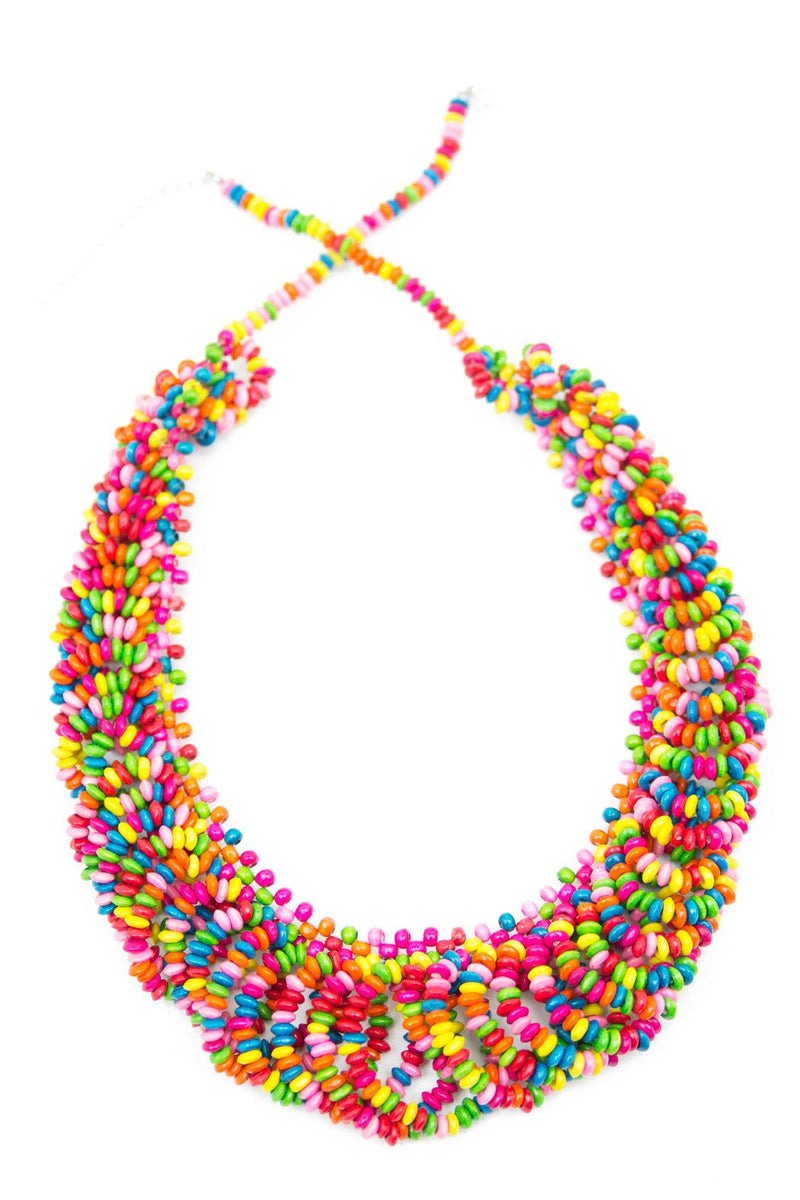 CANDY COLORED NECKLACE - Haute & Rebellious