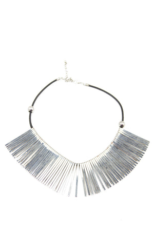 PHARAOH SHIELDS NECKLACE - Silver (Final Sale) - Haute & Rebellious