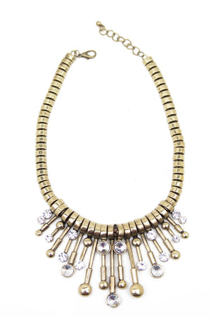 DRIPS OF CRYSTAL NECKLACE - Haute & Rebellious