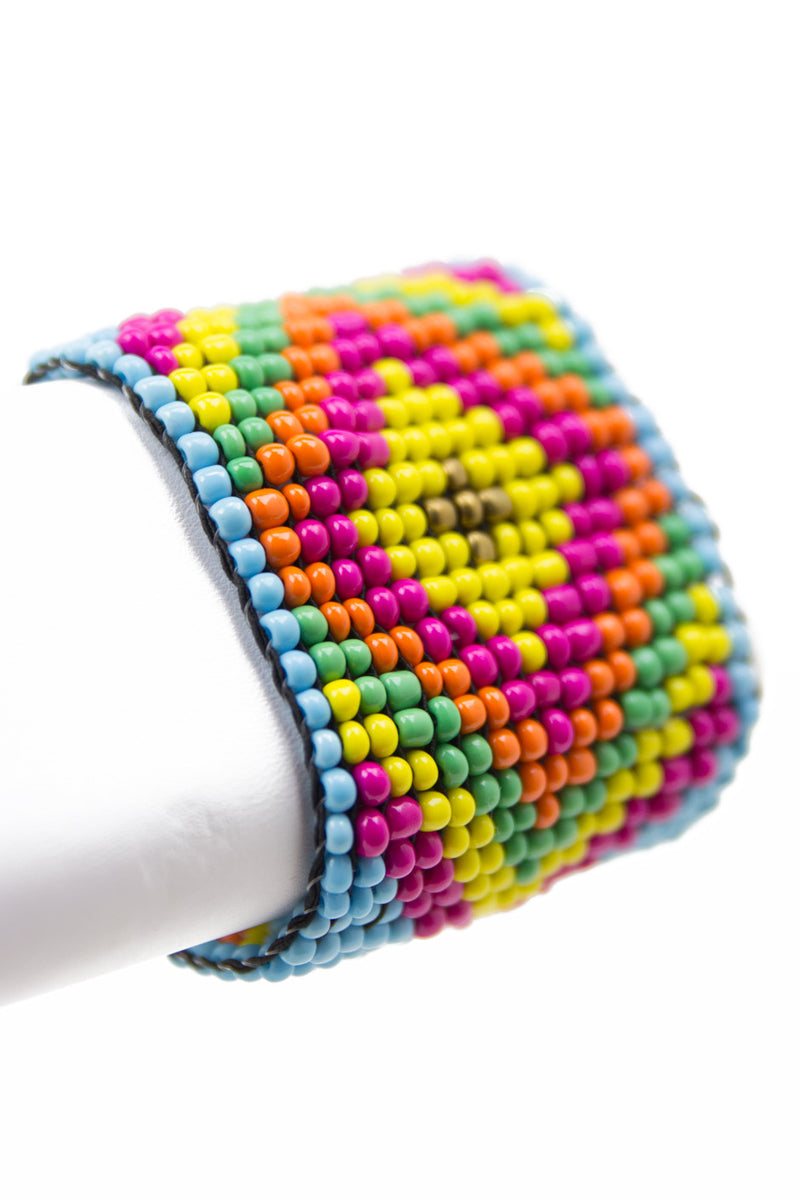 TRIBAL BEADED BRACELET - Haute & Rebellious