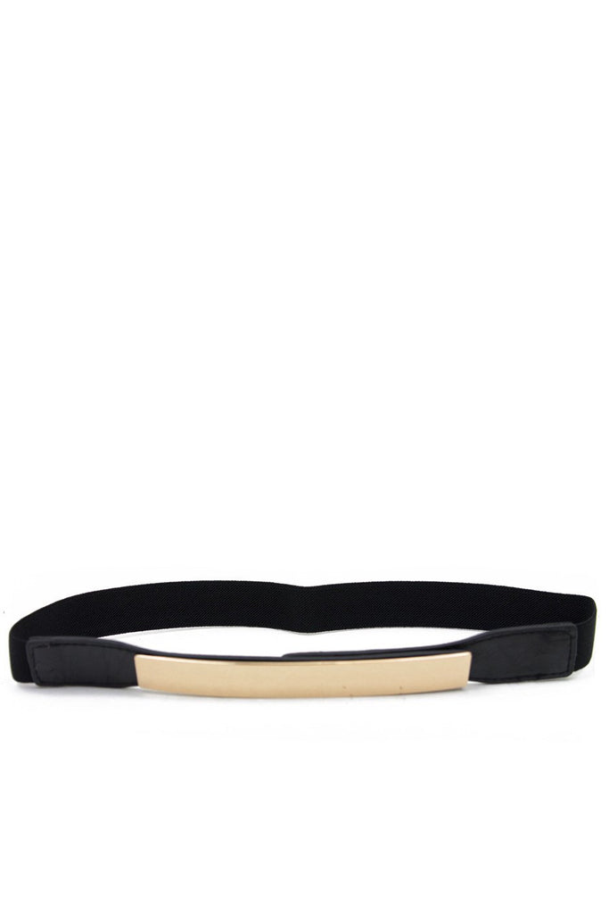 BLACK GOLD PLATED BELT - Haute & Rebellious