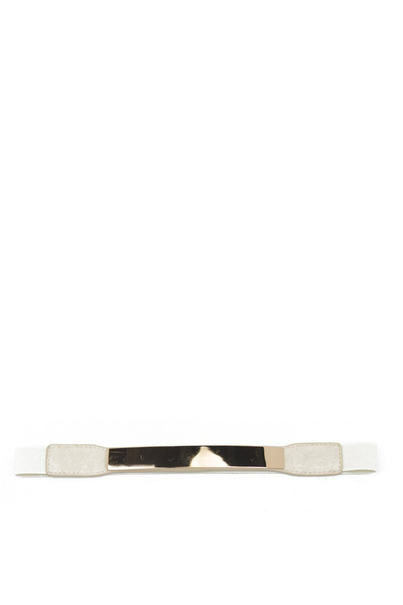 GOLD PLATED BELT - Creme - Haute & Rebellious