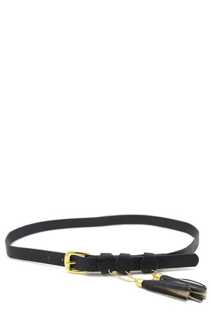 BLACK TASSELS BELT - Haute & Rebellious