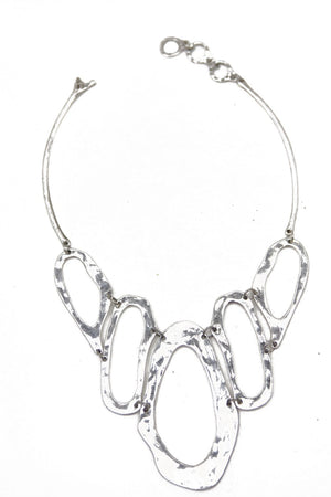LIQUID SILVER NECKLACE (Final Sale) - Haute & Rebellious